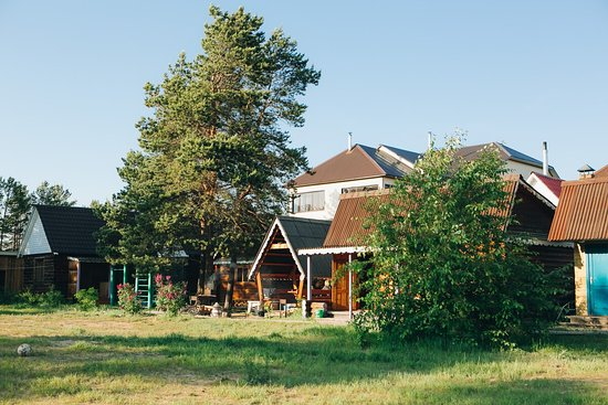 Ust-Barguzin, Rússia: Такой свежий воздух