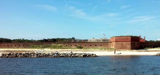 Amelia River Cruises & Charters: Fort Clinch.