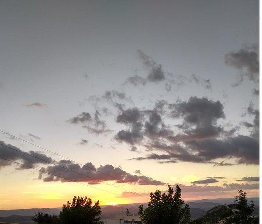 Serra de Sao Bento, RN: sol da tardezinha