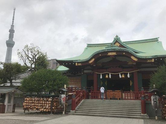 龟户天神社照片