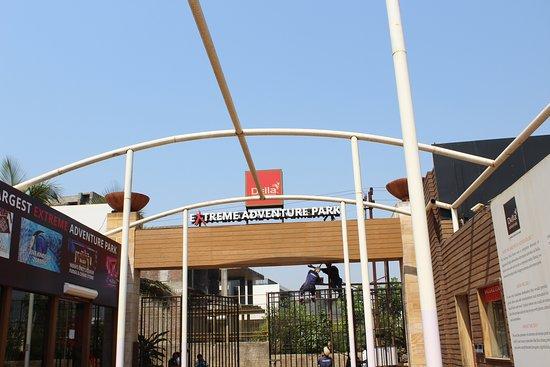 Della Adventure Park: Main Entry gate