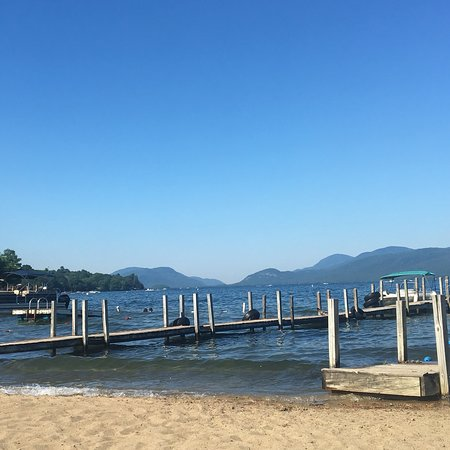 Golden Sands Resort on Lake George: First time here and we will definitely return next summer