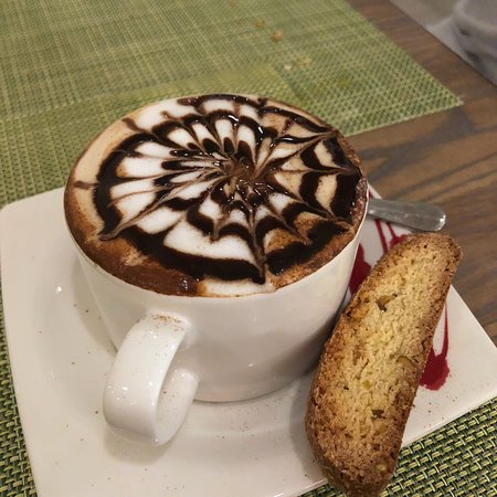 East Lyme, CT: The most amazing cappuccino!