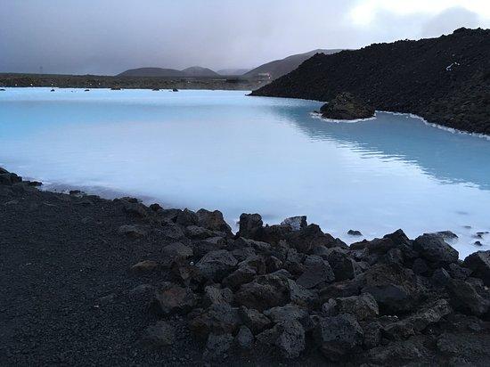蓝湖温泉照片