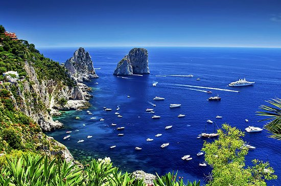 Capri og tur rundt øya med Blue...