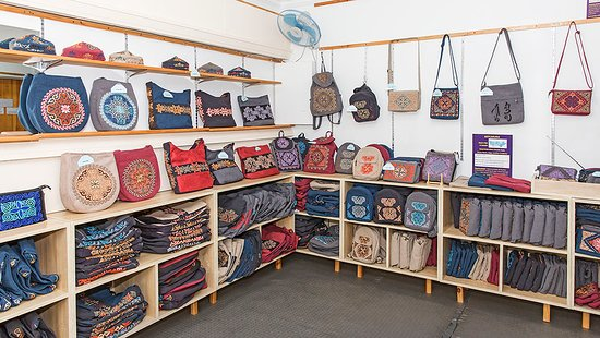 Ulan Bator, Mongolia: Embroidered Bags for every occasion
