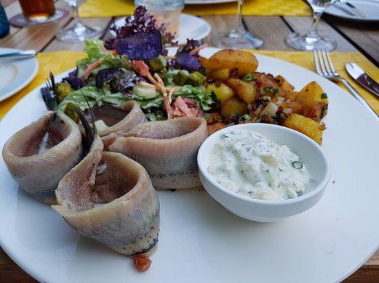 Restaurant Ralf Muller: Frischer Matjes
