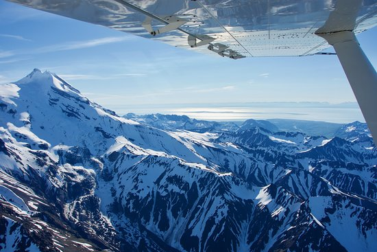Rust's Flying Service: Alaskan range mountain