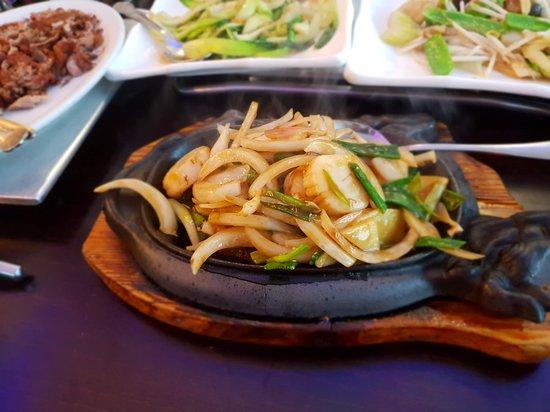 China Kitchen: Sizzling Scallops