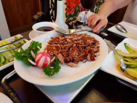 China Kitchen: Shredded duck