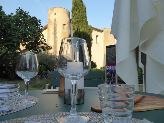 Le Moulin du Château : gedeckter Tisch