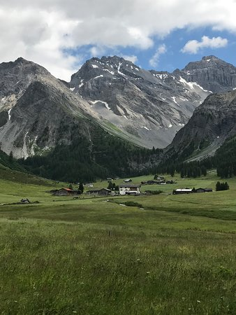 Restaurant zum Bergfuhrer: Village view