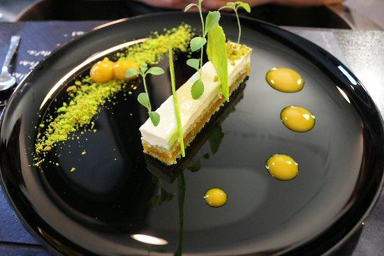 Restaurant Le Duplex: Souvenirs du Japon (thé matcha, mangue), une tuerie