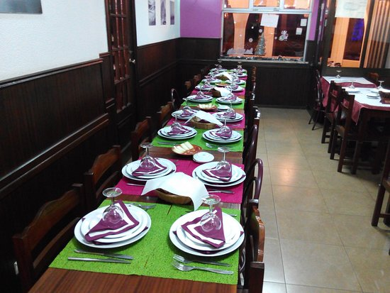 Restaurante Faz-te Esperto: sala