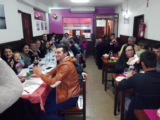 Restaurante Faz-te Esperto: festa