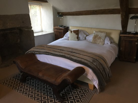 Dunsford, UK: Unser Zimmer in Weeke Barton