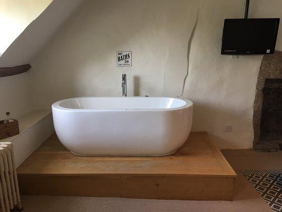 Dunsford, UK: Die sehr einladende Badewanne