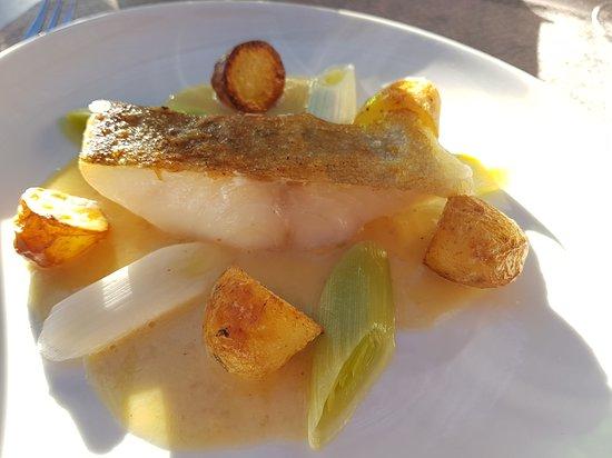 Sainte-Luce-sur-Loire, France: poisson au beurre blanc, excellent!