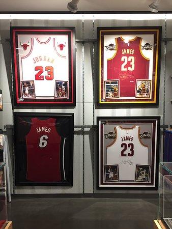NBA Store ภาพถ่าย