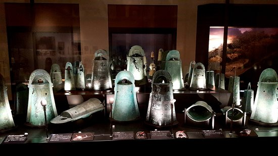 Shimane Museum of Ancient Izumo: 青銅器區展示