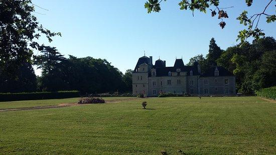 Chateau de Jalnay: de achterzijde