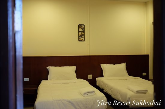 Jitra Resort: ห้องเตียงคู่ Double room