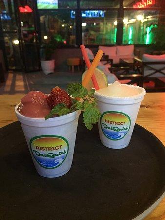 District Daiquiri: Frozen Sweet Strawberries Daiquiri