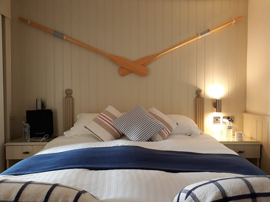 Beesands, UK: Lord's room with sea view