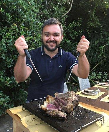 T-Bone Steak ภาพถ่าย