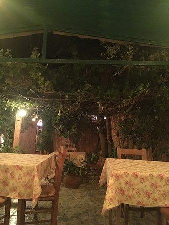 Bochali, Greece: Veranda