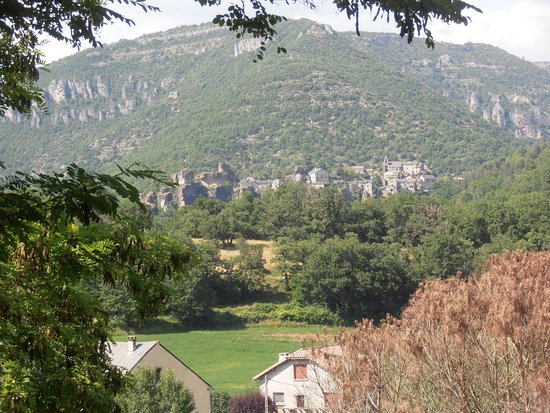 Nant, France: view from our place