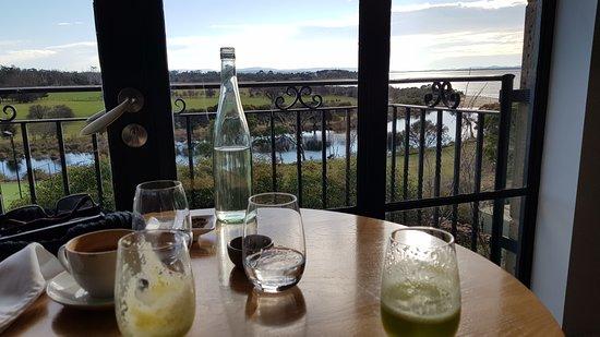 Piermont Retreat: Breakfast view