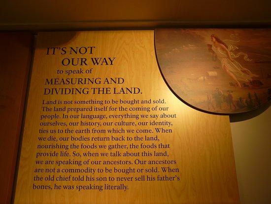 Wisdom, MT: Old chief Joseph words to his son