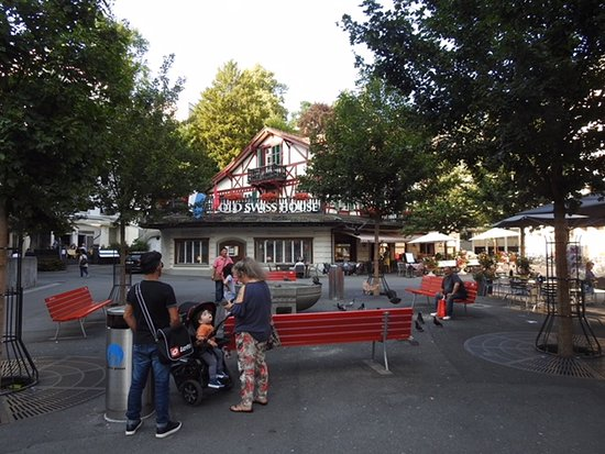 Old Swiss House: The area where the restaurant is