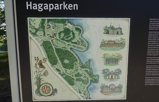 Map Picture Of Hagaparken Stockholm Tripadvisor