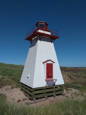 Morell, Canadá: St. Peters Harbour Lighthouse