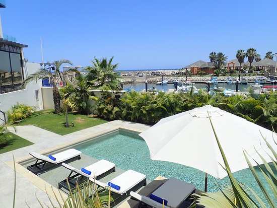 Hotel El Ganzo: View of ground floor pool