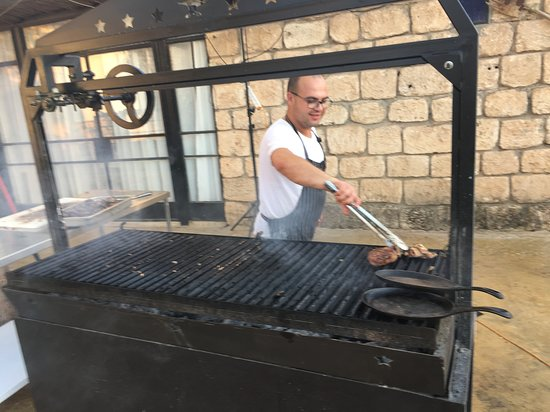 Yesod Hamaala, Israel: The chef has good reason to be proud