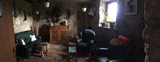 Posada de Ziga: Sala de estar común