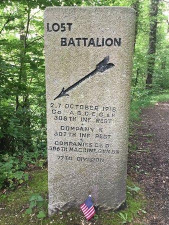 Lost Batallion Memorial