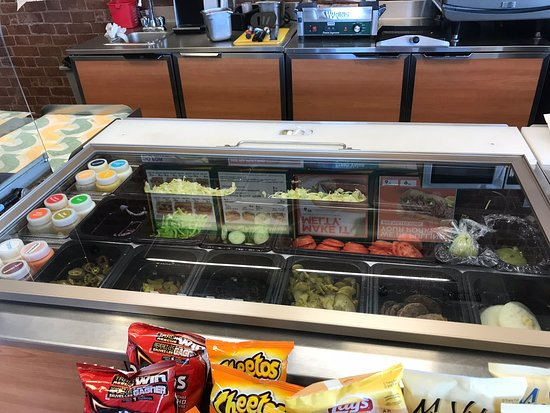 Hanna, Kanada: Toppings and Sauces