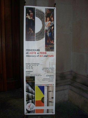 Museo San Fedele: targa
