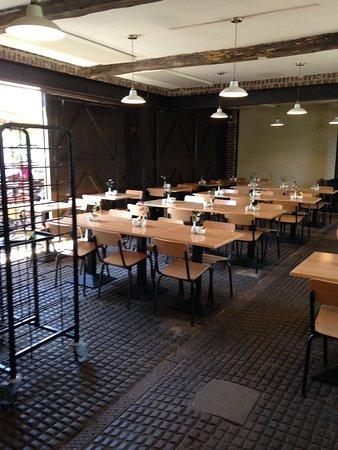 Hinton Ampner, UK: Inside eating area