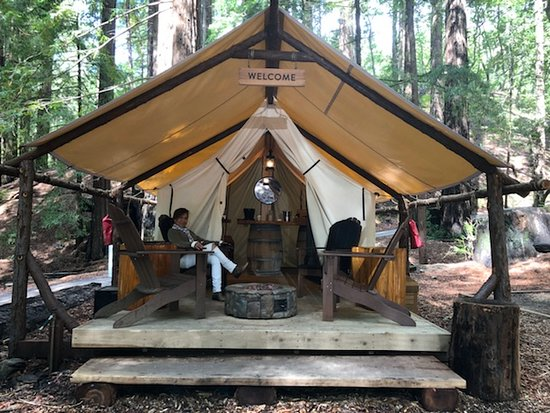 Glamping In The Wilderness Picture Of The Sur House Big Sur Tripadvisor