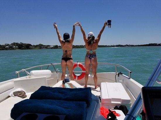 Casey Key Water Taxi: Fun on the water.