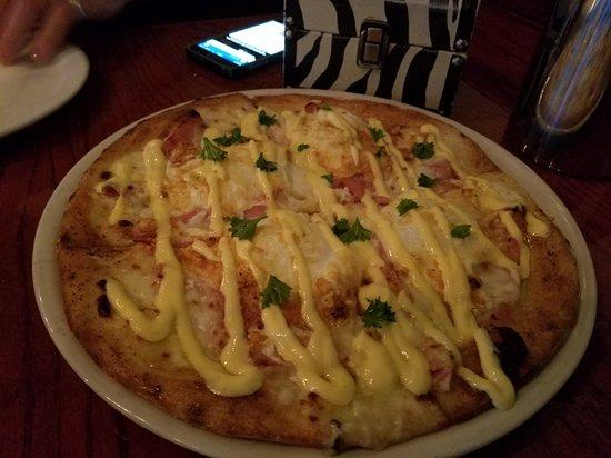 Chapin, SC: Eggs Benedict pizza