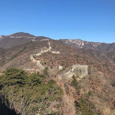 Chinese Muur Foto