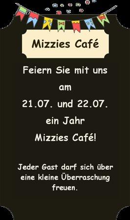 Landsberg, Alemanha: 1 Jahr Mizzies Café