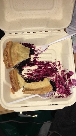 Awesome blueberry pie!
