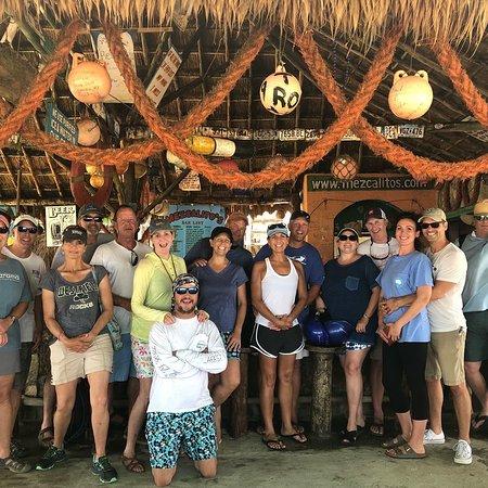 Mezcalitos Restaurant & Beach Bar Cozumel: Great friends